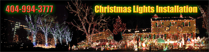 Christmas Lights Installation help Atlanta area