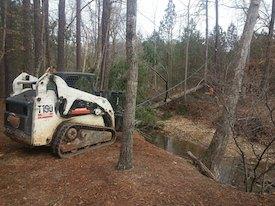 top acworth tree service company with bobcat